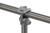 90° Aufsteckverbinder f. 2 Rohre, 1, Seite offen, TG verzinkt, d=26,9mm 90° Aufsteckverbinder für...