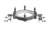 KF Kugelflange clamp DN 200, with 2, supporting devices for tubes 26,9mm KF Kugelflange clamp DN...