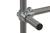90° Eckverbinder f. 3 Rohre, Temperguss, verzinkt, d=26,9mm 90° Eckverbinder für 3 Einzelrohre,...
