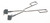 Kolbenzange 18/10 Stahl, L=230mm, D=15-60mm Kolbenzange, 18/10 Stahl, elektrolytisch poliert,...