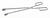 Sterilisierzange 18/10 Stahl, L=280mm Sterilisierzange 18/10 Stahl, elektrolytisch poliert,...