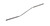 Mikro spatula bent, 18/10 steel, L=130mm, d=1,5mm Mikro spatula bent, 18/10 steel, L=130mm, d=1,5mm