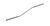 Mikrospatel gebogen 18/10 Stahl, L=130mm, d=1,5mm Mikrospatel gebogen 18/10 Stahl, L=130mm, d=1,5mm
