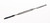 Cement spatula, stainless steel, L=150mm Cement spatula, stainless steel, 1 side tappered, 1 side...