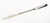 Double spatula 18/10 steel, tappered, LxW=210x7mm Double spatula 18/10 steel, 1 side tappered,...