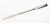 Doppelspatel 18/10 Stahl, konisch, LxB=210x7mm Doppelspatel 18/10 Stahl, 1 Seite konisch,...