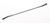 Double spatula-spoon shape 18/10 steel, LxW=210x12mm Double spatula-spoon shape 18/10 steel,...