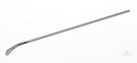 Spatule, forme cuillère, acier inox, 18/10, LxL=130x5mm Spatule, forme cuillère, acier inox...