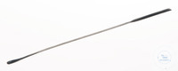 Spatule avec cuillère, acier inox, 18/10, LxL=130x5mm Spatule avec cuillère, acier inox 18/10,...