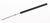 Micro spatula with PVC-handle, L=160mm Micro spatula 18/10 steel with PVC-handle, L=160mm,...