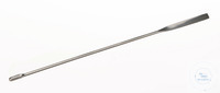 Microcuillère spatule, acier inox, 18/10, L=150mm Microcuillère spatule, acier inox 18/10,...