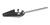 Wiegeschaufel konisch 18/10 Stahl, L=250mm Wiegeschaufel konisch 18/10 Stahl, L=250mm, Schaufel...
