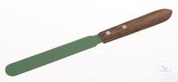 Apothekerspatel PTFE Coating, m., Holzgriff, L=230mm