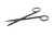 Verbandschere, rostfrei, L=145mm,Carbon, beschichtet, spitz-stumpf Verbandschere, rostfrei,...