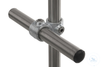 Kreuzverbinder f. 2 Rohre, Temperguss,verzinkt, d=26,9mm Kreuzverbinder für 2 Einzelrohre,...