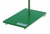 Stand base steel, green varnished, M10, winding, 315x200x10mm Stand base steel, green varnished,...