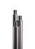 Stativstange Stahl verzinkt, M10, Gewinde, LxD=1250x12mm Stativstange aus Stahl verzinkt, mit M10...