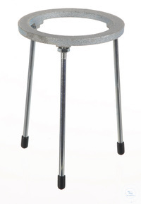 Tripods malleable cast iron zinc, plated, DxH=100x180mm Tripods out of malleable cast iron zinc...