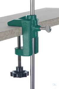 Tischklemme f. Stativstangen D=12/13mm Tischklemme für Stativstangen D=12/13mm, für Tischplatten...