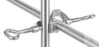 Kreuzdoppelmuffe 18/10 Stahl, DIN, 12895, d=16,5mm Kreuzdoppelmuffe aus 18/10 Stahl, DIN 12895,...