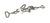 Bosshead 18/10 steel, swivel type, d=16,5mm Bosshead out of 18/10 steel, swivel type, d=16,5mm,...