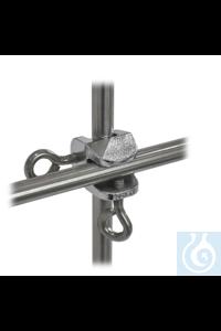 Gittermuffe 18/10 Stahl, d=13,5mm, Lappenschraube Gittermuffe aus 18/10 Stahl, d=13,5mm, Winkel...