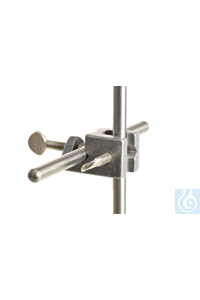 Universalmuffe Alu, d=13mm, Winkel, 180°+90° Universalmuffe aus Aluminium, d=13mm, Winkel...