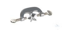 Bosshead, alu d=27mm, Thumb screw Bosshead, aluminium d=27mm, Angle 180+90°, Thread M10, thumb screw
