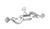 Nuez universal orientable, aleación dúctil, cromada, d=16,5mm Nuez universal orientable, aleación...