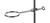 Stativring mit Muffe 18/10 Stahl, ID=100mm Stativring mit Muffe 18/10 Stahl, Schaftlänge=70mm,...