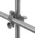 Rohrschelle/Reduzierschelle 18/10, Stahl, d=26,9mm Rohrschelle/Reduzierschelle 18/10 Stahl für...