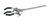 Retort clamp 3-finger alu, d=0-70mm Retort clamp 3-finger out of aluminium, diameter=0-70mm,...