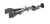 Burette a. condenser clamp w., adjustable, bosshead, d=12-45mm Burette und condenser clamp with...