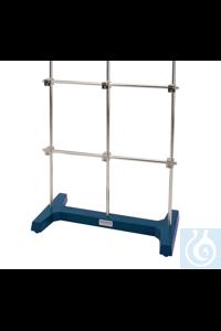 H-frame KOMPLETT, w. rods alu a., bosshead, HxL=800x500mm H-frame KOMPLETT, with aluminium-rods...