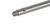 Schaft 18/10 Stahl f., Schellenringhalterung, L=400mm Schaft 18/10 Stahl f....