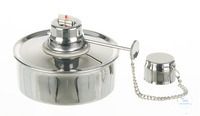 Alcohol burner 18/10 steel, volume, 150ml, adjustable Alcohol burner out of 18/10 steel, Volume...