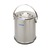 Isolate container w. lid, 18/10 steel, double wall, 5 l Isolate container with lid, 18/10 steel,...