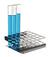 Reagenzglasgestell 18/10 Stahl, Z-Form, f. 5x5 Reagenzgläser Reagenzglasgestell aus 18/10 Stahl,...