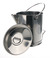 Measuring jug, 18/10 steel, 20l, graduated, with spout Measuring jug, 18/10 steel, 20l,...
