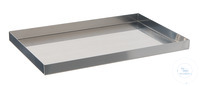 Instruments tray 18/10 steel, 440x340x20mm