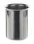 Beker met rand inox 18/10, 2000 ml Beker met rand, roestvrij staal 18/10 (RVS), 2000 ml, H x D =...