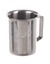 Beaker w. rim, spout a. handle, 18/10, steel, 250ml Beaker with rim, spout and handle, 18/10...