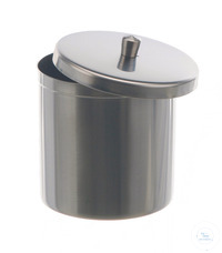 Dressing jar 18/10 steel, 1200ml Dressing jar 18/10 steel, 1200ml, HxD=120x120mm