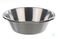 Laboratory bowl 18/10 steel, 3000ml Laboratory bowl 18/10 steel, 3000ml, with reversed rim,...