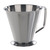 Measuring jug 18/10 steel, conical, shape, w. foot, 0,5 l Measuring jug 18/10 steel, with spout...