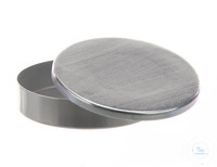 Dressing jar alu, D=80mm, H=20mm Dressing jar out of aluminium, D=80mm, H=20mm