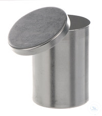 Dressing jar alu, D=80mm, H=110mm Dressing jar out of aluminium, D=80mm, H=110mm