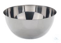 Schale 18/10 Stahl, m. rundem Boden, 1000ml, D=160mm, H=80mm Schale mit rundem Boden, 18/10...