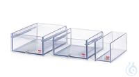 130A-E Polycarbonate Bath 130A-EWidth bath opening WxD: 480x180 mmBath depth:...