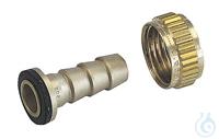 """hose coupling 1/2"""" for hose 3/8"""" Verschraubungen"""